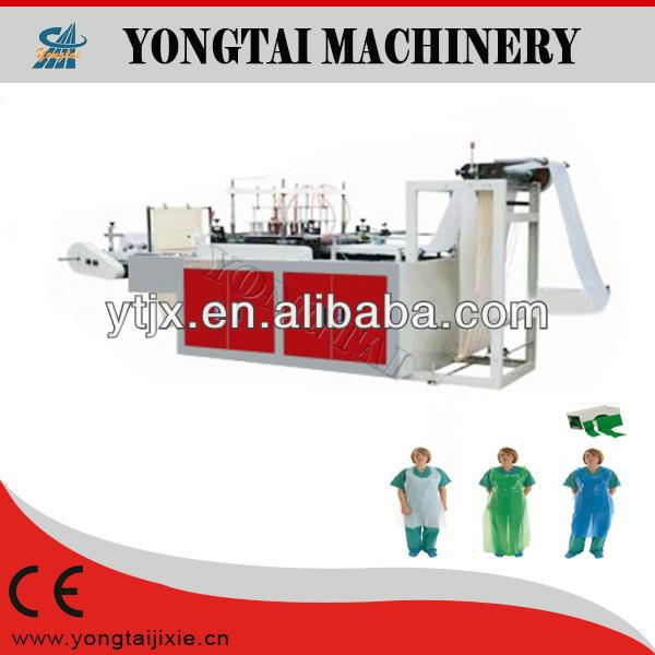 Barber disposable plastics apron welding machine