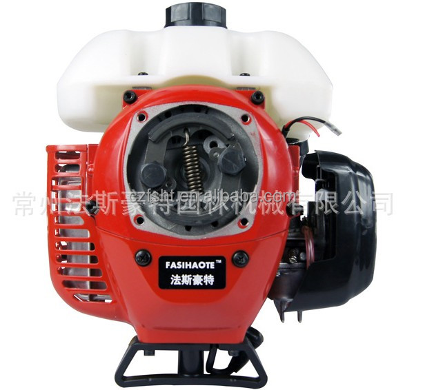 Stable performance gas brush cutter engine