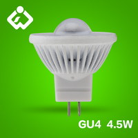 2014 new chips 1w 2w 3w 4.5w 12V dimmable MR11 GU4 LED 5W
