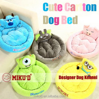 New Wholesale High Quality Durable Various Fabric Luxury Cartoon Character Pet Dog Beds