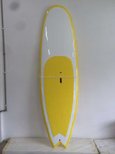 Inflatable wave fiberglass SUP