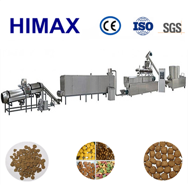 2016 hot sale and full automatic dog food pellet making machine with factory