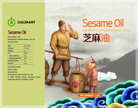 Sesame Oil producer traditional sesame oil in China