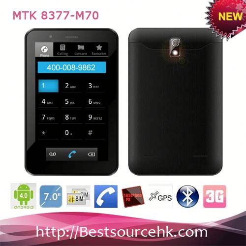 3G tablet with wifi MTK8377-M70