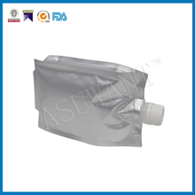 Good quality stand up plastic beer spout pouch