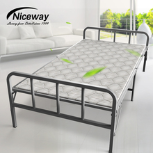 High quality fashionable extra bed bedroom wooden folding bed/ living home bed