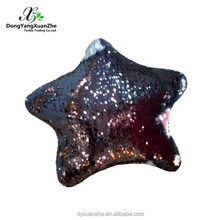 Sequin Star Shape Soft Pillow Cushion/Newest Pillow Cushion for Home Design