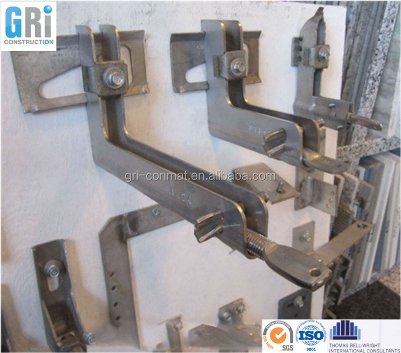 Grc Fixing Base Detail : Stone cladding fixing system buy