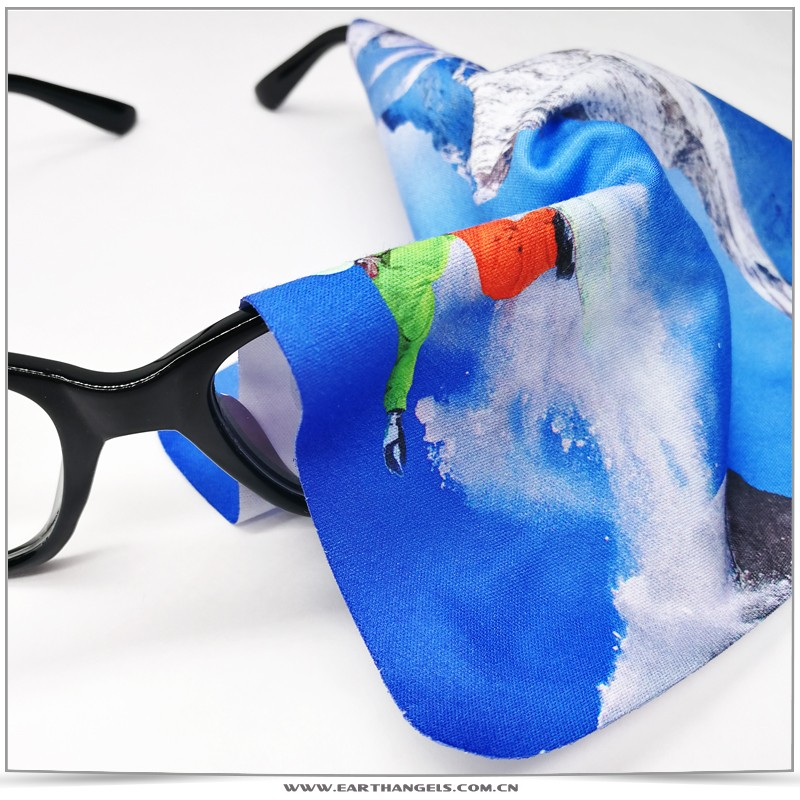 Custom Microfiber Cleaning Cloth For Glasses/Eyeglasses/Eyewear