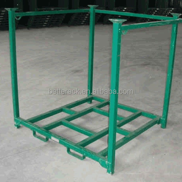 Customized Metal Storage Stacking Pallet Rack for Tires