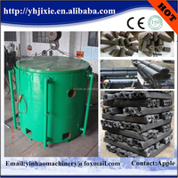 Low investment high profit business wood carbide furnace wood charcoal carbonization stove