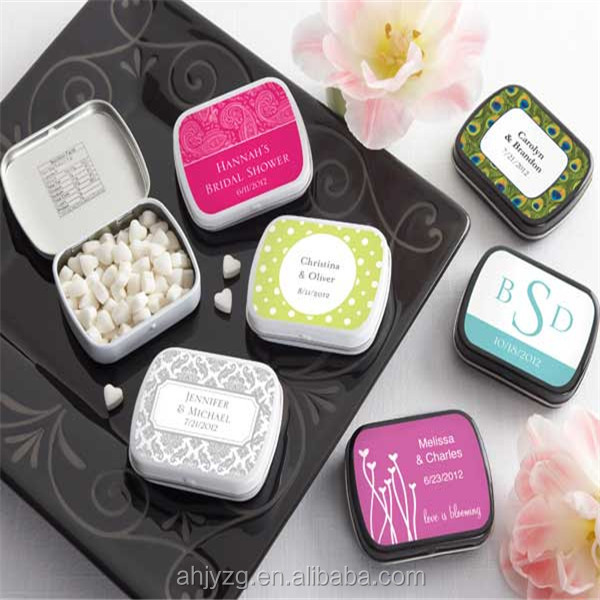 fancy wedding favors candy boxes empty gift boxes candy tin gift box