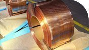 steel strips electro-copper