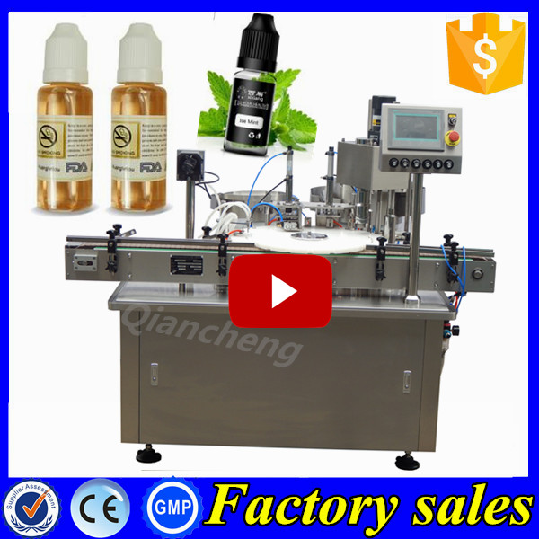 Best price of chengxiang filling machine 10ml, 15ml e-cig oil production line