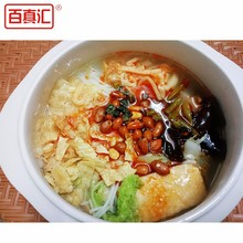 Dry chinese noodles instant rice stick noodle with snail meat