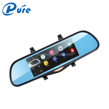 Wholesale factory price 6.86 inch car dvr allwinner A33 car black box android 4.4 FHD 1080p car camera