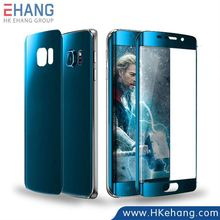 New Product The Avengers Series Theme Colorful Full Cover Screen Protector Film for Samsung Galaxy S6 Edge