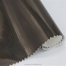 Manufacturering clear PVC fabric or leather in stock for stationery, furniture and handbag