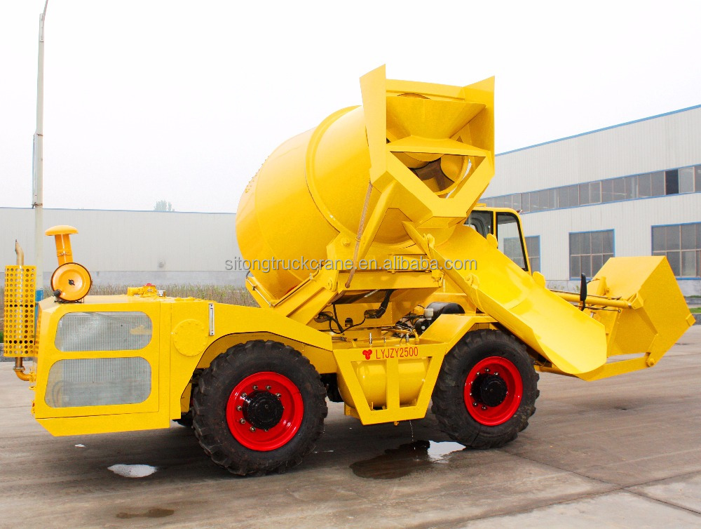 Loader Mobile Portabl Cement 4X4 Concret Mixer Dumper