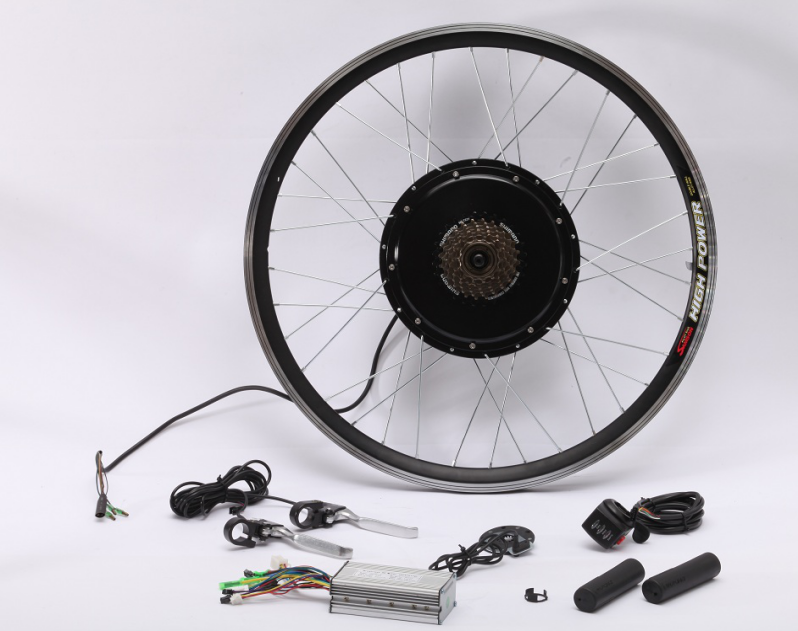low price 36v/48v 500w front/rear hub motor conversion kit for self-installment of ebikes