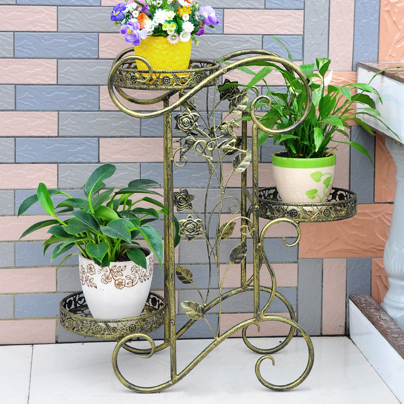 Garden Stand Designs : Metal plant holder wrought iron stands flower