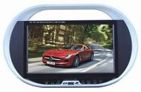 Wide screen cheap car portable dvd player with usb / HIFi speakers