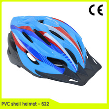 custom cheap PVC shell cycling helmet for adult scooter