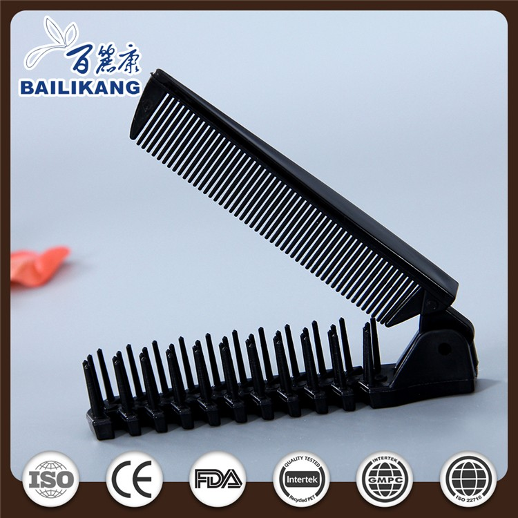 wholesale color changing comb and japan folding hairbrush