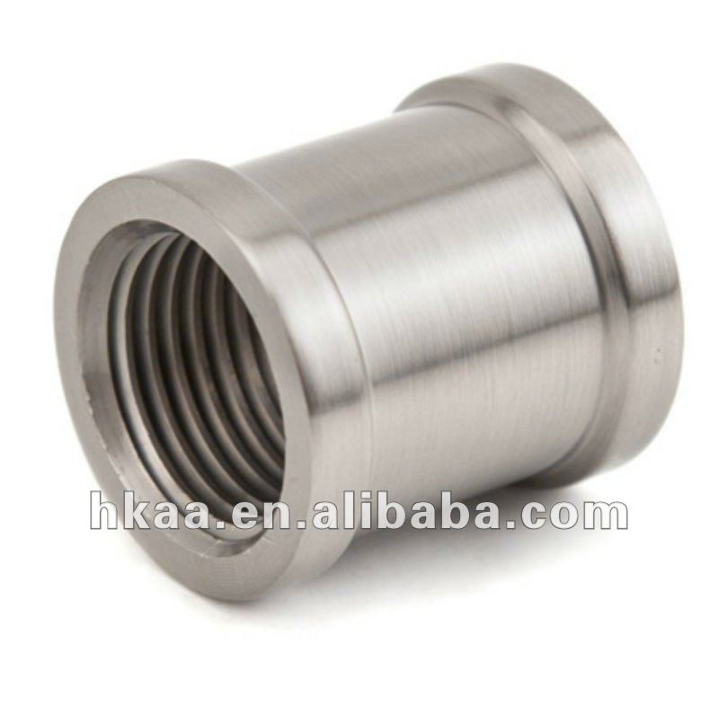custom stainless steel threaded round coupling nut