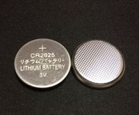 button cell cr2025 lithium ion battery