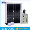 20w solar ligting system solar panel kit solar power system home USB solar small system 12AH