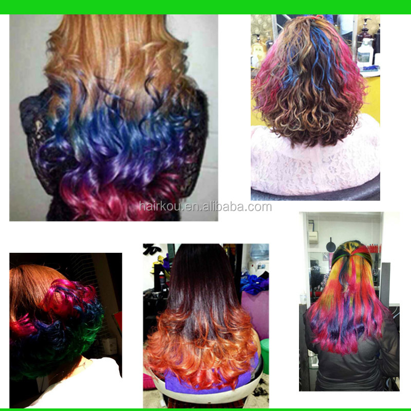 Professional Special Effects Hair Dye,Wax Polishing Your Hair with Acid Protective Layer