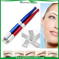 2015 getbetterlife Pro eyebrow tattoo /manual permanent makeup tattoo pen/eyebrow embroidery machine