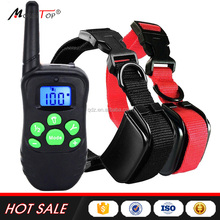 Hot Sale Anti Bark No Barking Remote Electric Shock Vibration Remote Pet Dog Training Collar 81dr