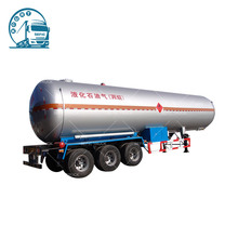 New tri-axle Liquefied Petroleum Gas LPG tanker semi trailer for sale