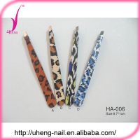 High quality stainless steel eyebrow tweezers