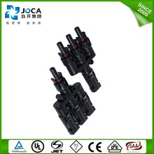 Female,male Wholesale China High quality solar connector Wire Clip MC4 Y Branch for Off Grid Solar System