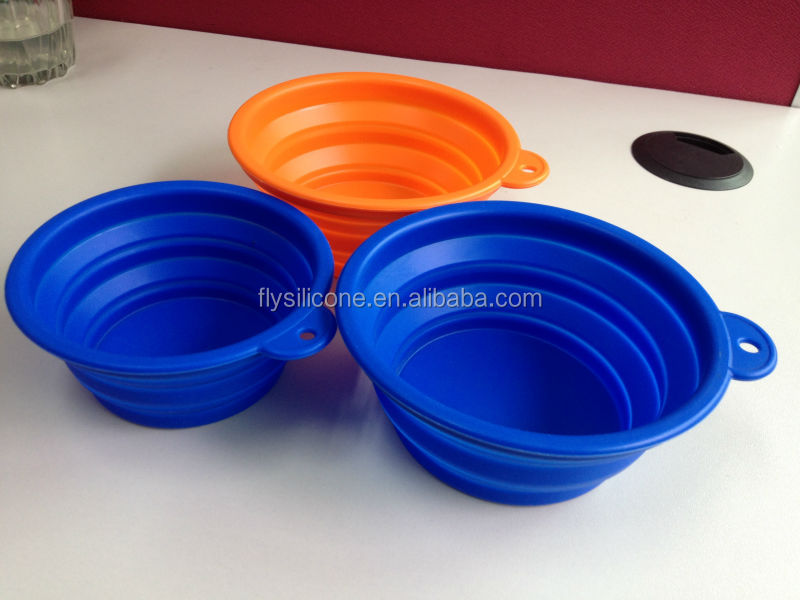 (Can be folded in the pocket) 2014 ceramic dog bowls wholesale