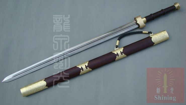 High Quality Folded Steel Chinese Sword of Yue Dynasty