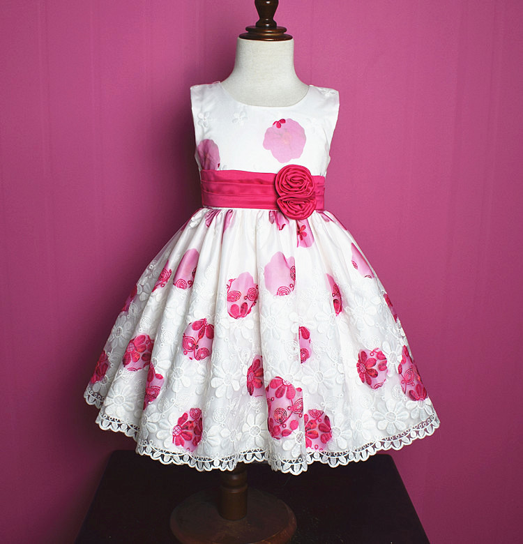 Kids costumes embroidered kids frock designs Showlands kids beautiful model dresses