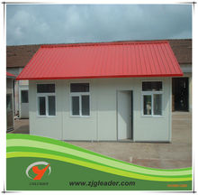 easy and quick erect prefabricated house, modular house