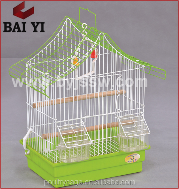 China Manufacturer Customized Metal And Plastic Pet Supplies Bird Cages For Sale(wholesale,good quality,Made in China)