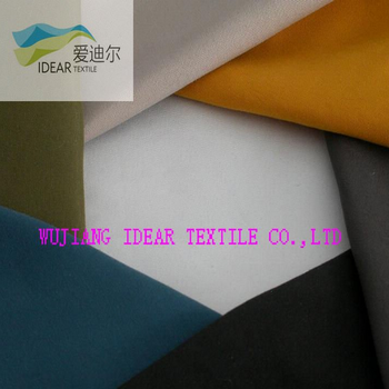 100% Polyester Peach Skin Fabric for Home Textile