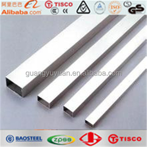 SUS316l stainless square steel pipe hot sale made in china