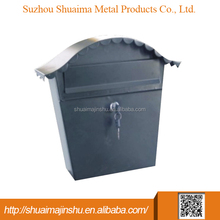 china supplier 360*135*370 stainless steel stainless steel mailbox and stands