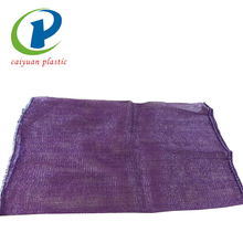 Cheap pe material packing tubular mesh bag for tomato