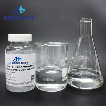 Hydroxy silicone oil  raw material 107 OH polymer 20000,50000,80000cst