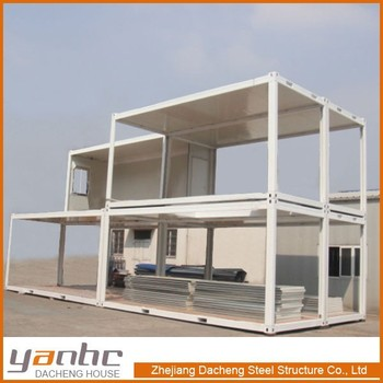 Prefabricated Multi Storey Easy Installation Container Homes