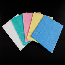 Spunlace nonwoven medical wipes for cleaning