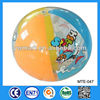 40cm plastic PVC inflatable balls for kids